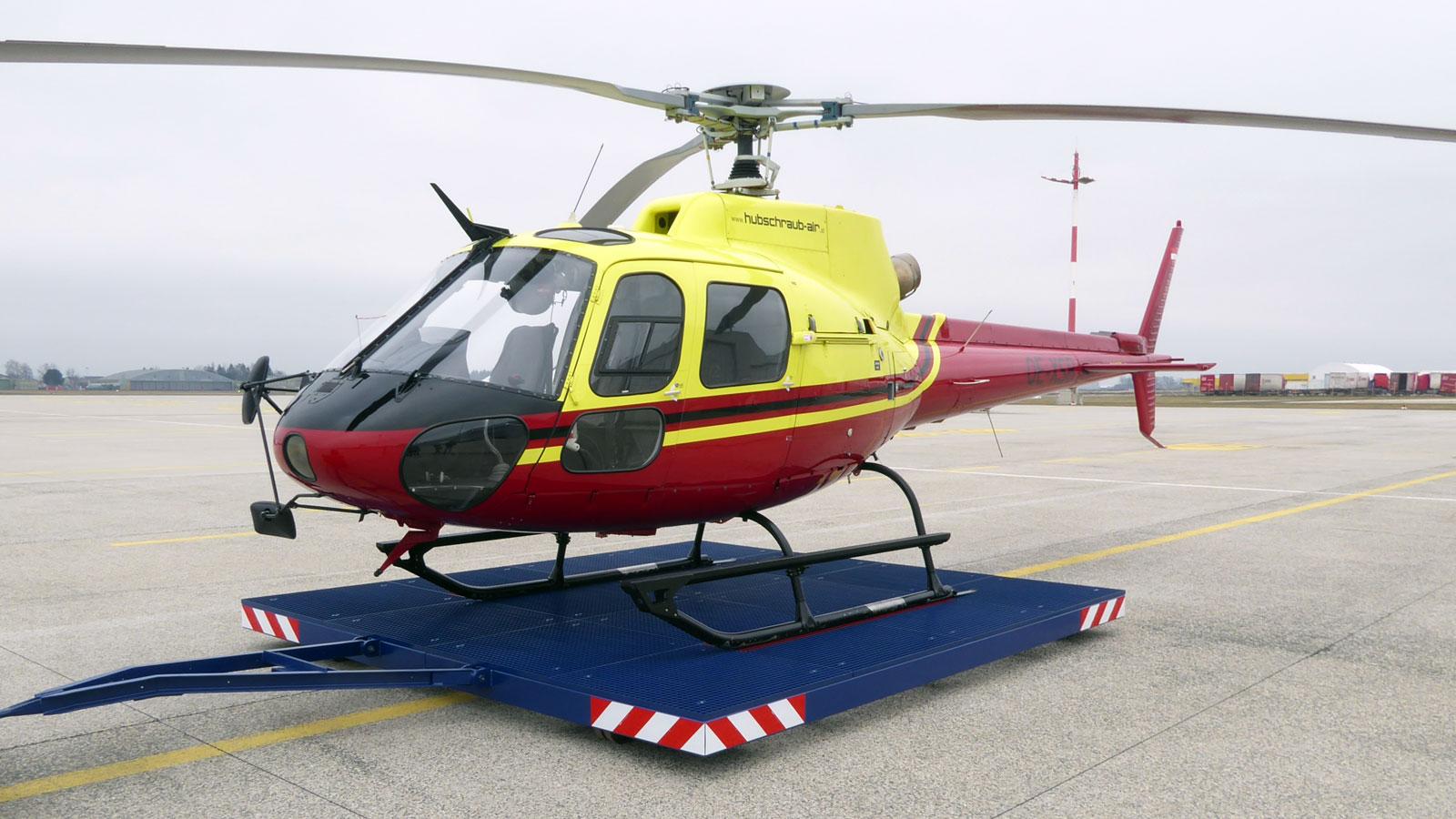 Bild Hubschrauberplattform